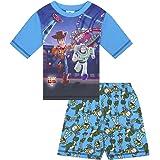 Pijama corto de Disney para niños - Toy Story, Buzz y Woody