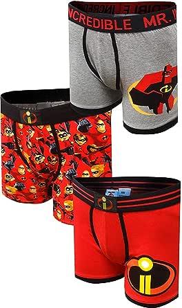 Men's Disney Incredibles 3 Pack Boxer Brief