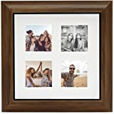 Fujifilm instax Cornice Portafoto Originale 25 x 25 cm, Contiene 4 Foto in Formato instax SQUARE da Parete o da Tavolo, Effet