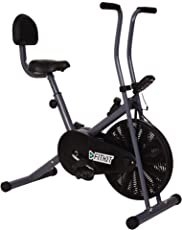 Fitkit FK500 Steel Airbike with Free Installation (Black/Grey)