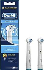 Oral-B Interspace Aufsteckbürsten für Elektrische Zahnbürsten, 2 Stück