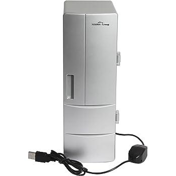 Sidiou Group USB piccolo frigorifero medio frigo USB mini frigo bevande congelatore di raffreddamento e riscaldamento a doppio scopo Frigorifero portatile (5)