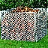 Komposter Metallkomposter Gartenkomposter Streckmetall 100 x 100 x 80 cm (227)