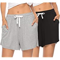 Johny Kingdom Women's Cotton Shorts | (Pack of 2)