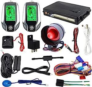 Easyguard 2 Wege Auto Alarmanlage Ec204 Mit Pke Elektronik