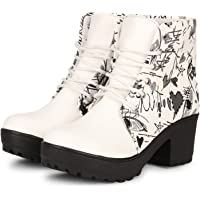 FASHIMO Texture Long Boots for Women and Girls