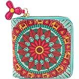 Chumbak Indian Mandala Wallet - Mini - Wallet for Women, Zipper Coin Purse, Printed Design, Card Holder Organizer…
