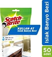Scotch-Brite Kullan At Islak Bez