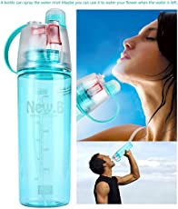 Celebrationgift Water Mist Plastic Spray Water Bottle 600 ml