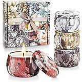 Yinuo Mirror Candele Profumate Set, Regalo da Aromaterapia per Donna/Mamma/Moglie, Cera di Soia Naturale, Candele Profumate p