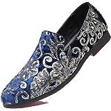Jojsely56 Soprattutto Taglia Manuale di Moda Stivali in Pelle Intrecciata Scarpe di Pelle Scamosciata di Grandi Dimensioni Sc