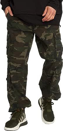 Brandit Pure Vintage Men's Cargo Trousers Plus Size up to 7XL
