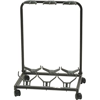 quik lok gs 450 universal 5 way guitar stand and display black musical instruments. Black Bedroom Furniture Sets. Home Design Ideas