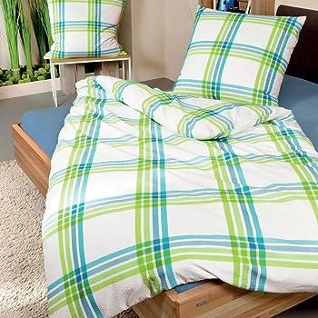janine bettw sche seersucker braun beige gr e 135x200 cm 40x80 cm janine k che. Black Bedroom Furniture Sets. Home Design Ideas