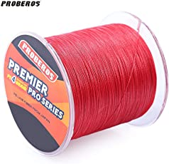 Zorbes PROBEROS 500M Durable Colorful PE 4 Strands Monofilament Braided Fishing Line Angling Accessory