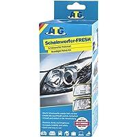 ATG Polish pour voiture - renovateur phare - 16-tlg.- Kit d'entretien polisseuse voiture polish pour voiture phare moto…