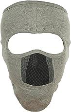 H-Store Unisex Lycra Face Mask (hstorelitegreybluemask, Grey)