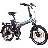 "NCM London (+) E-Bike, E-Faltrad, 250W, 36V 15Ah/19Ah • 540Wh/684Wh Akku, 20"" Zoll"