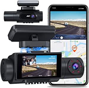 Aqp 4k Dual Dash Cam Infrarot Nachtsicht 2560p 1080p Elektronik