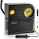 WindGallop Gonfleur pneus Voiture 12V Mini Compresseur à Air Portable Gonfleur Analogique Pompe de Pneu de Voiture Allume Cig