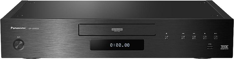 Premium Ultra HD Blu-Ray Player DP-UB9004EGK in Schwarz (4K Blu-Ray Disc, Multi-HDR, D/A-Wandler, 2X HDMI, 2X USB, 7.1 Analog-Ausgänge, XLR Anschlüsse)