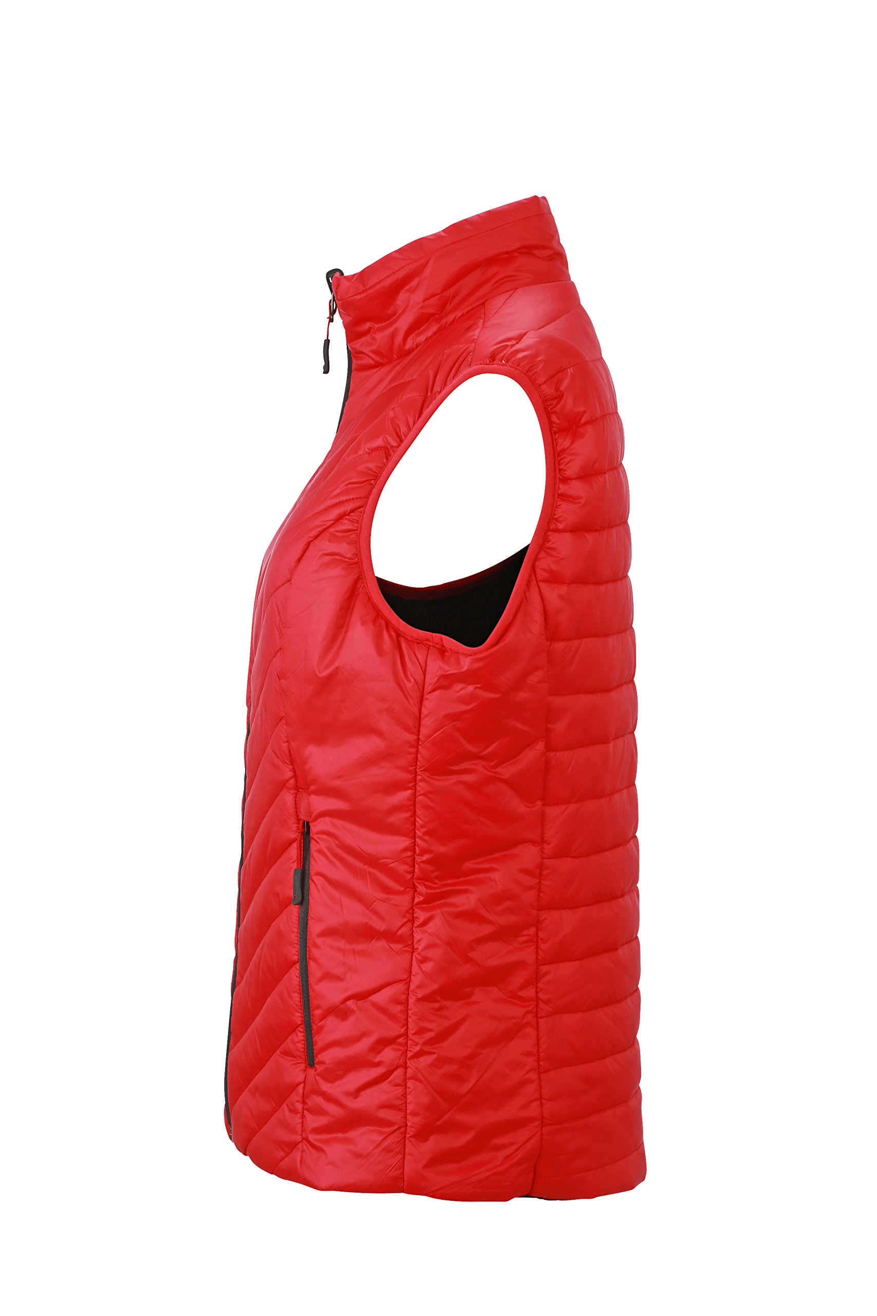 71BjAJvX3iL - James & Nicholson Women's Lightweight Vest Outdoor