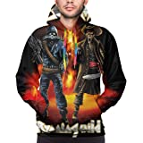 X6Better Sodom Man'S 3D Printed Athletic Pullover Sweatshirt Hoodies Sudadera con Capucha para Hombre