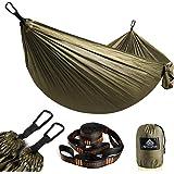 NatureFun Hamac ultra-léger de voyage Camping   300 kg Capacité de charge,(275 x 140 cm) respirante, nylon à parachute à séch