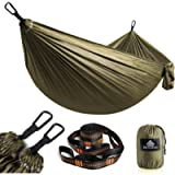 NATUREFUN Ultra-Light Travel Camping Hammock | 300kg Load Capacity,(275 x 140 cm) Breathable,Quick-drying Parachute…