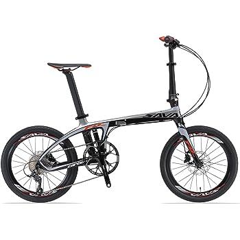 Sava Carbon bicicleta bicicleta plegable bicicleta plegable (.Solo 10 kg.