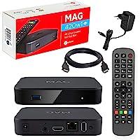 MAG 420w1 Original Kit Infomir & HB-DIGITAL IPTV 4K TOP Box multimédia player Internet Récepteur IPTV # 4K UHD 2160p@60…