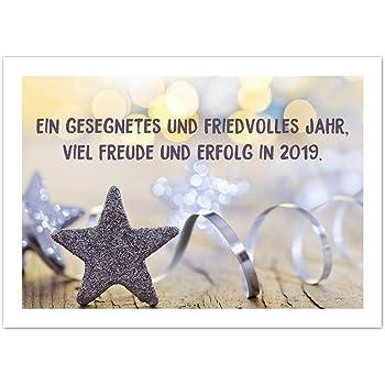 15 x Neujahrs-Karten (Feuerwerk) im Postkarten Format mit Umschlag ...