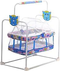 BabyGo Baby Cradle Mobile Swing (Blue)