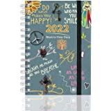 Arpan 2022 Diary Family Planner with 6 Columns Week to View Layouts. Runs 1st Aug-2021 to Dec-2022.