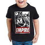 style3 Empire Camiseta para Niños T-Shirt halcón Endor Soldado de Asalto Fuerza