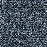 Teppichboden Auslegware | Schlinge gemustert | 400 und 500 cm Breite | blau grau | Meterware, verschiedene Größen | Größe: 5,5 x 4m