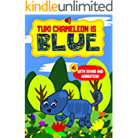Tuki Chameleon is Blue – A Learning to Read Sound Enabled Interactive Storybook for Beginners for early reading and to know their Color (Blue) too.: For preschoolers, toddlers and kids aged 3 to 5