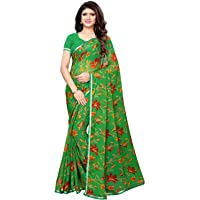 KANCHNAR Women's Chiffon Saree