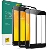 Deyooxi 2 Pezzi Vetro Temperato per iPhone 7 Plus/iPhone 8 Plus, Curva Full Screen Pellicola Protettiva Screen Protector Film