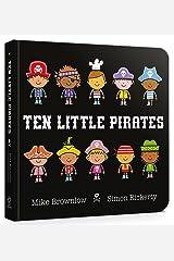 Ten Little Pirates Board Book Board book