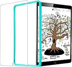 Neues iPad 9.7 Zoll 2018/ iPad 9.7 2017/ iPad Air / Air 2 / Pro 9.7 Schutzfolie [mit Installation Werkzeug], ESR 0.3mm Tempered Glas Folie Panzerglas Folie für Neues iPad/ iPad 2018/ iPad Air / Air 2 / Pro 9.7/ iPad 9.7 2017