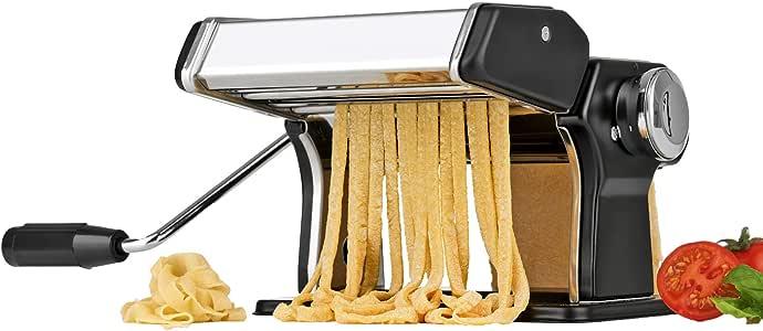 Machine Pâte Frais Machine à Pâte Maison Cuisine Tagliatelle Lasagne en Acier