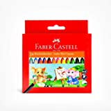 Faber Castell Jumbo 9 cm Wax Crayons - Pack Of 24