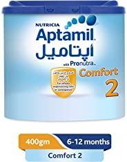 Aptamil Comfort 2 Follow On Formula Milk, 400g