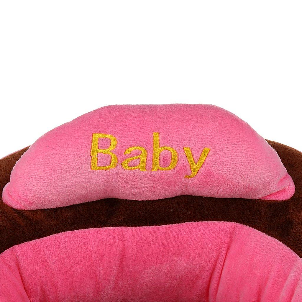 Baoblaze Baby Kinder Kindersessel Babysessel Kindercouch Mini Sessel f/ür Baby Kleinkind St/ützsitz Sitzen Sitzsack