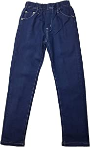 Unbekannt Warme Mädchen Thermohose, gefütterte Jeans, MT1317e