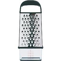 OXO Good Grips Râpe 4 faces – Râpe pour la cuisine avec récupérateur - Acier inoxydable