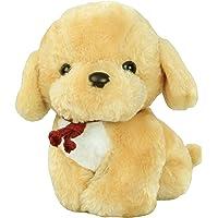 Popo Soft Plush Puppy Dog Toy (Brown, 21 cm)