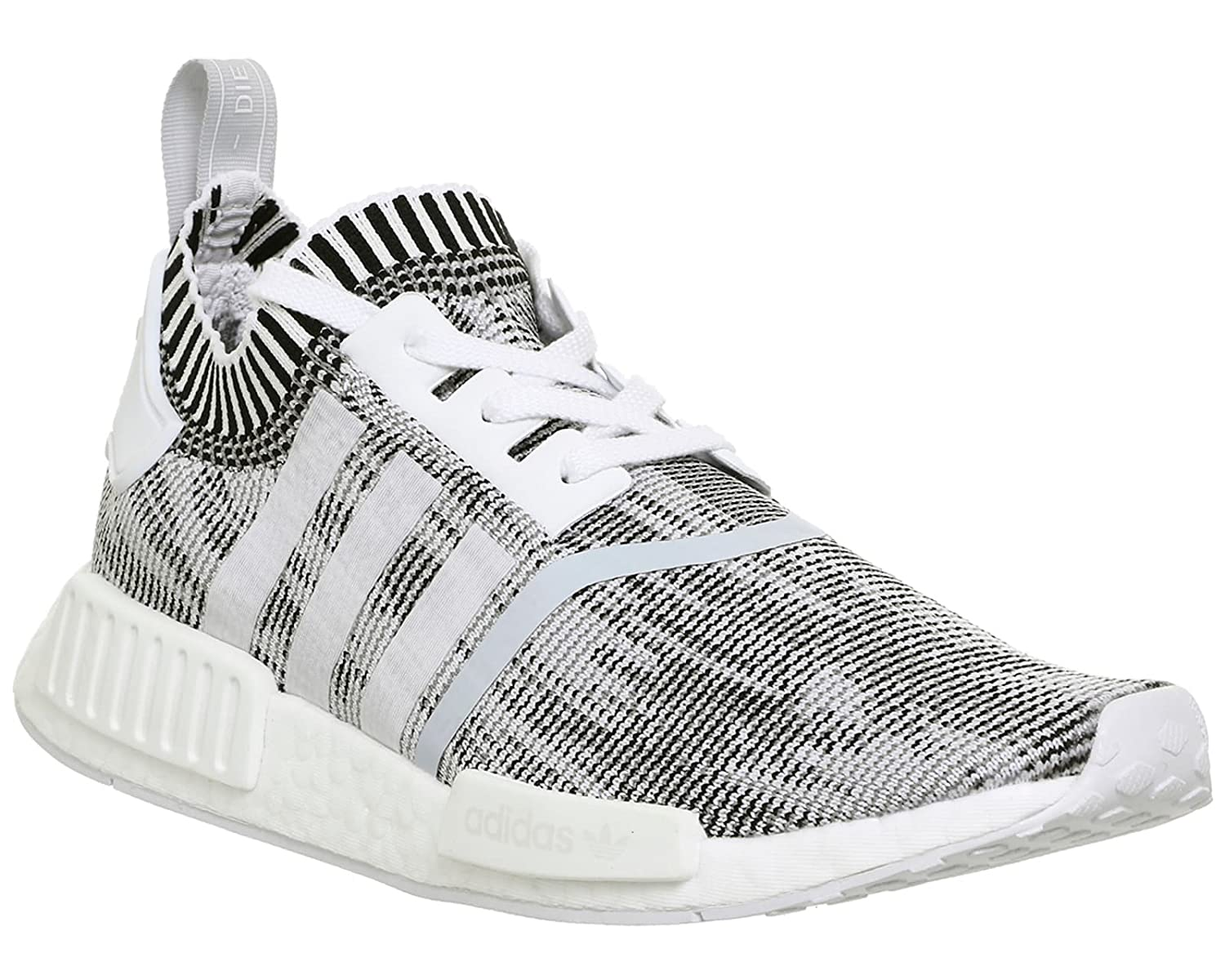1a26c6c56 adidas NMD R1 Prime Knit White White Black - 7 UK  Amazon.co.uk  Shoes    Bags