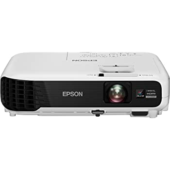 Epson EB-U04 Vidéoprojecteur (Full HD 1080p, 2X HDMI), Blanc